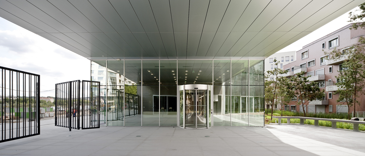 La Factory - Boulogne-Billancourt, Paris - Mateo Arquitectura - espace public